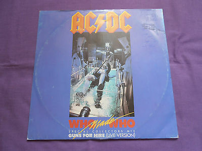 """AC/DC - Who Made Who (Special Collectors Mix) 12"""" 1986 Atlantic"""