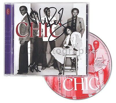 """Chic - Nile Rodgers - Authentic Autographed """"Very Best Of"""" CD"""