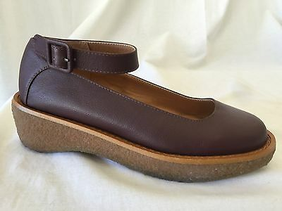 6f3e4338ecd Cooperative Urban Outfitters Mary Jane Shoes Women s 6 M leather Ankle Wedge  NEW