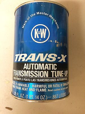 Vintage K&W TRANS-X Automatic Transmission Tune-Up