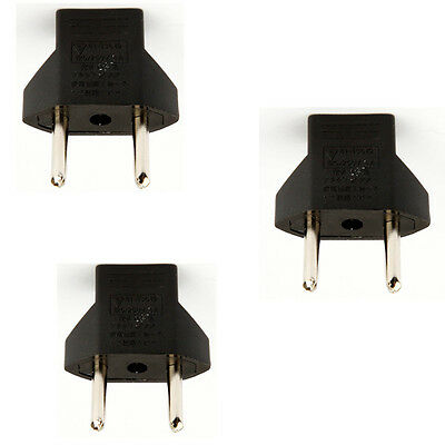 10x US to Europe EU Plug Travel Power Charger Socket Adapter Outlet Converter CA