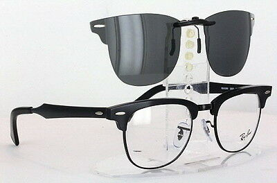 78a654e8bfd ... low cost custom fit polarized clip on sunglasses for ray ban 6295 51x21  rb6295 5e3ae 30494