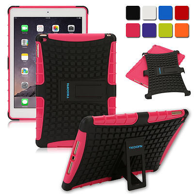 TKOOFN TOUGH HEAVY DUTY SHOCKPROOF STAND HARD CASE COVER FOR iPad 4 3 2 Mini AIR