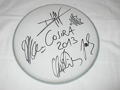 "Gojira Signed 10"" Drumhead"
