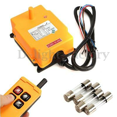 Industry 4 Channels Hoist Crane Radio Remote Control System Pushbutton Switch