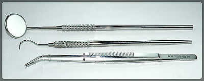 Dental Tarter Scraper And Remover Set Of 3 Pieces
