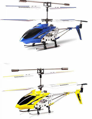 Syma S107G 3CH Remote Control RC Helicopter Alloy Copter with Gyroscope Flight