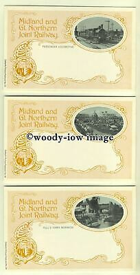 ry888 - Midland & Great Northern Joint Railway 6 postcards by Dalkeith all shown