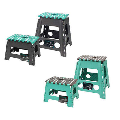 Strong HeavyDuty Folding Stool Step/Seat/150 Kg CapacityRandom Color Wham