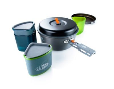 GSI Pinnacle Backpacker Cook and Eat Set Mens Unisex  New