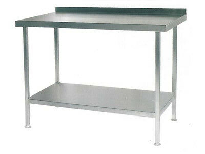 Stainless Steel Wall, Bench Prep Tables Commercial Business Restaurant All Sizes