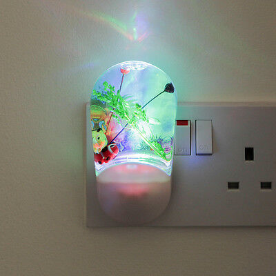 11Cm Indoor Children's Plug In Bedroom Auto Projector Led Mood Night Light Lamp