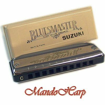 Suzuki Harmonica - MR-250 Bluesmaster (KEY OF C) NEW