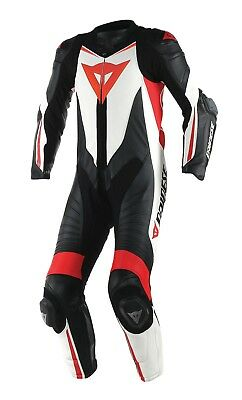 Dainese Laguna Seca D1 2016 Race One 1 Piece Leather Motorcycle Motorbike Suit