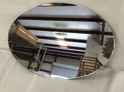 "Carlisle Food Service Products MirAcryl Oval Serving Tray Mirrored 23.5"" x 15.5"""