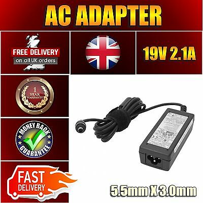 Power supply Charger Adapter for Samsung ADP-40MH BB 19v 2.1a 40W
