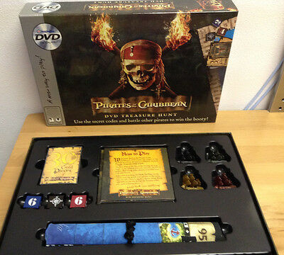 Disney Pirates of the Caribbean DVD Treasure Hunt Game by Imagination