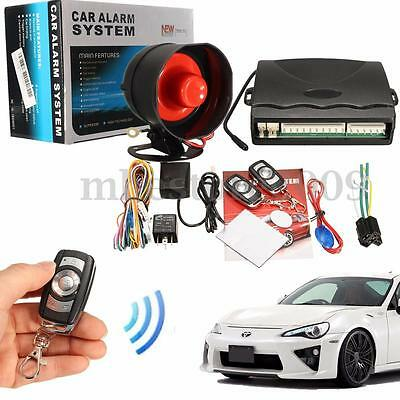 1-Way Car Vehicle Alarm Protection Security System Keyless Siren Remote Control