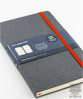 Moleskine Ltd Edition Fabric Pique Weave Notebooks