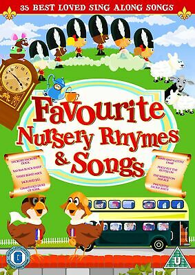 Favourite Nursery Rhymes and Children's Songs [DVD]