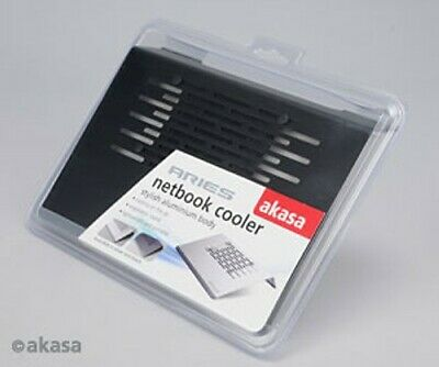 "Akasa Aries Netbook Cooler Black 11.6"" AK-NBC-15BK"