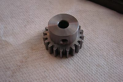 20 Tooth 1/4 inch bore Spur gear, Pinion gear