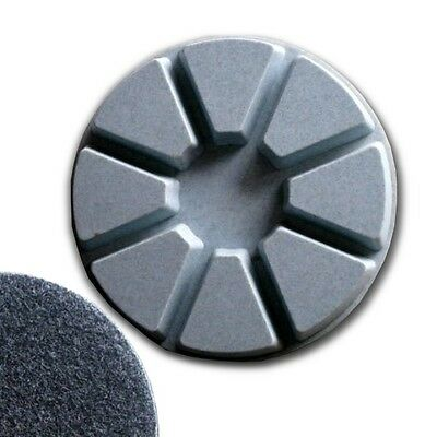 "4"" (100mm) Grit 100, Pie Polishing Pad, Dry Use, Hook and Loop Backing"