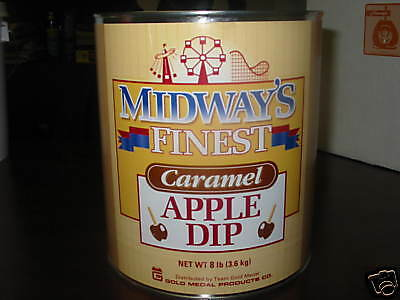 Midway's Finest Caramel Apple Dip 8Lb Can