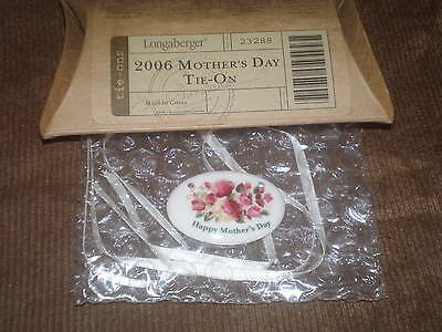 Longaberger 2006 Happy Mother's Day Basket Tie-On