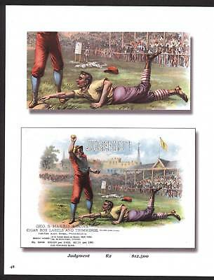 Antique Original Baseball Lithographs  100+ years old