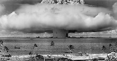 1946-Baker Explosion-Nuclear Weapon Test-United States Military at Bikini Atol-A