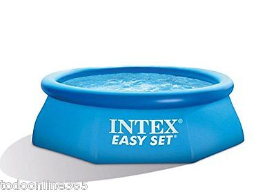 Piscina INTEX EASY SET 305x76 cm Lona desmontable  hinchable de plástico rápido