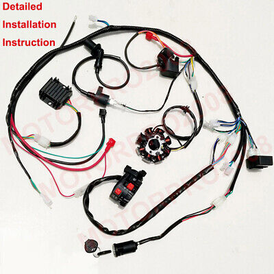 Gy6 150 Wiring Harness - Wiring Diagrams List Dazon Go Kart Wiring Diagram on