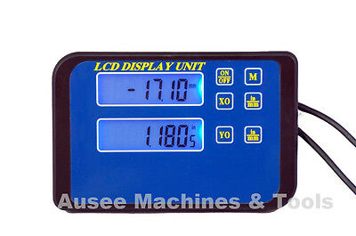 Digital Readout Units with Magnetic Back -2 axis