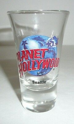 Planet Hollywood SEATTLE Collectible Shot Glass - Restaurant
