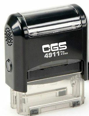 Self Inking Stamp Customised 4911 36mm x 12mm