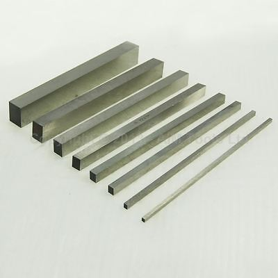 1 Pc Hss Lathe Milling Metal Wroking Tools Steel Square 4mm to 25mm 200mm Long