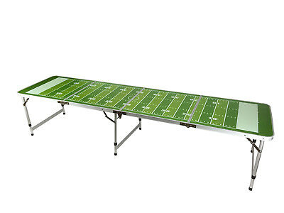 New Beer Pong Table 8' Aluminum Folding Indoor Outdoor Tailgate Drinking Game #2