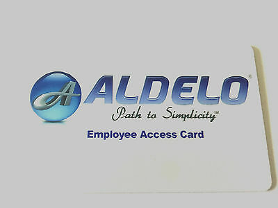Aldelo POS Magnetic Swipe Employee Access Card FREE SHIPPING