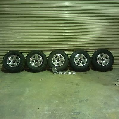 5 Toyota Landcruiser Gxl Wheels Rims And Tyres Brand New