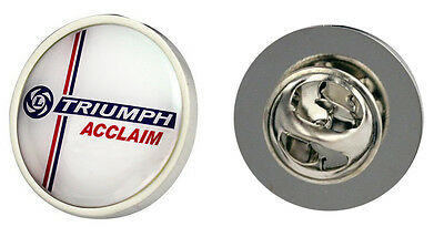 Triumph Acclaim Leyland Logo Clutch Pin Badge Choice of Gold/Silver