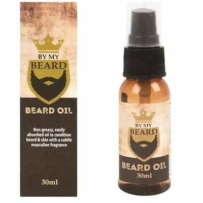 By My Beard Oil Men's Non Greasy Facial Hair Moustache Grooming Treatment 30ml