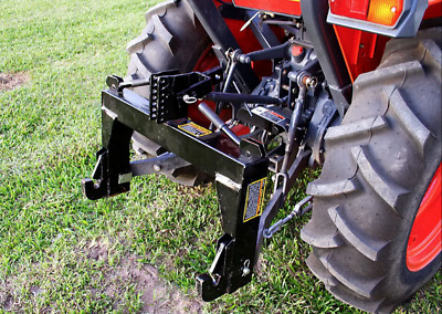 3-Point Quick Hitch Category 1 Farming Tractor Implement Attachments Hook Clev*