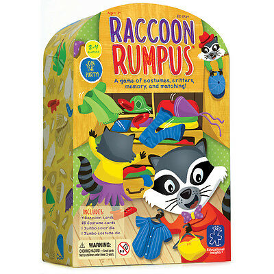 Educational Insights Raccoon Rumpus Game NEW