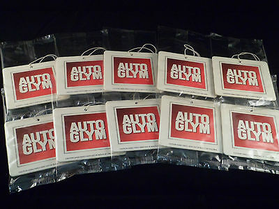 Autoglym Air Freshener Brand New Sealed X 10