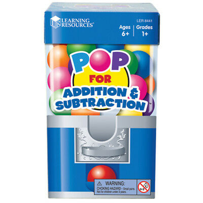 Learning Resources POP for Addition & Subtraction Game NEW