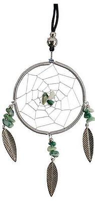 Balinese Dreamcatcher Necklace with Stone Center!
