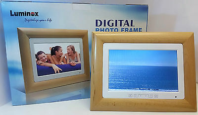 "10.1"" Digital Photo frame With Remote Control LCD LXDPF4182 Luminex"