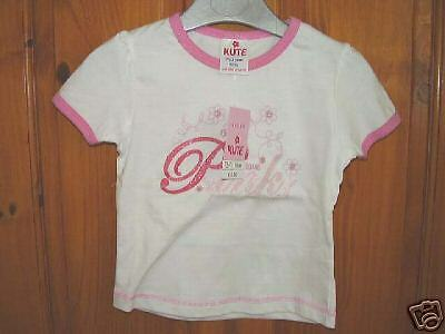 Girls I Love Pink Cotton Short Sleeved Top++Brand New++