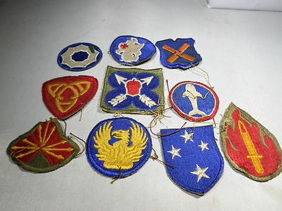 WWII VINTAGE Patch Lot #90